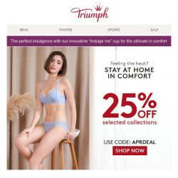 [Triumph] Feeling the heat? Stay at home in comfort