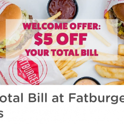 Fatburger: Enjoy a $5 Voucher When You Sign Up + $2 with Every Referral!