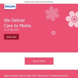 [PHILIPS] We deliver care to Moms