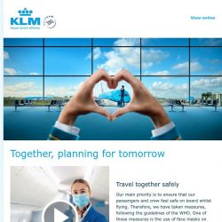 [KLM] Our plans for the way ahead