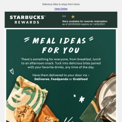 [Starbucks] The weekend is so close you can taste it