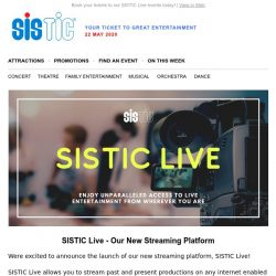 [SISTIC] Catch Sharon Au perform in 7 Sages of the Bamboo Grove starting this Sunday on SISTIC Live.