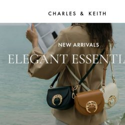 [Charles & Keith] What's New This Week: Leather Saddle Bags
