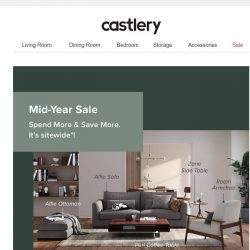 [Castlery] Our Mid-Year Sale is Here.