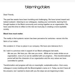 [Bloomingdales] How we're committing to change
