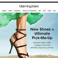 [Bloomingdales] Chic reasons to reunite with shoes