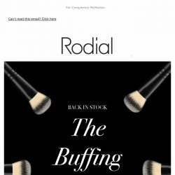 [RODIAL] BACK IN STOCK | The Buffing Brush