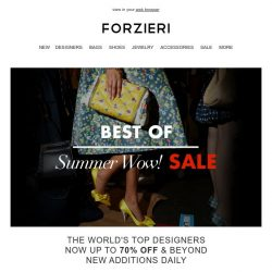 [Forzieri] Best of Wow! Sale ⚠️ : Michael Kors, Tory Burch, Cult Gaia