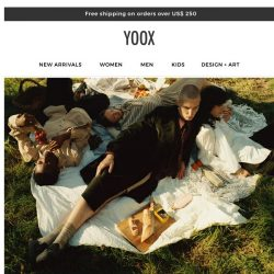 [Yoox] JW Anderson X YOOX: Discover the exclusive capsule collection