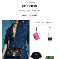 [Forzieri] New arrivals from: Versace Jeans Couture, BOY London & MM6 Maison Margiela