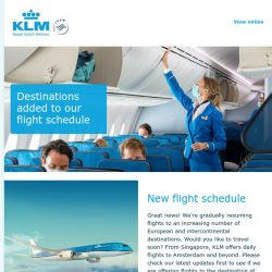 [KLM] Next steps on our way forward