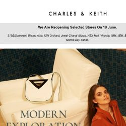 [Charles & Keith] Modern Exploration