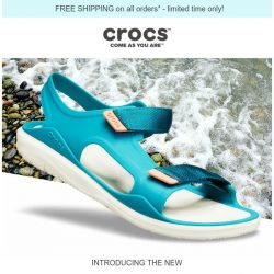 [Crocs Singapore] Introducing the NEW Swiftwater™ Expedition Sandal