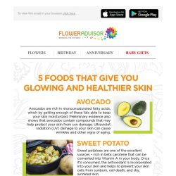 [Floweradvisor] 5 Foods That Give You Glowing & Healthier Skin
