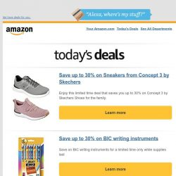 [Amazon] Save up to 30% on Sneakers from Concept 3 by...