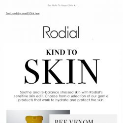 [RODIAL] Stressed Out Skin Essentials