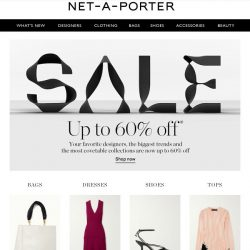 [NET-A-PORTER] Just dropped: 60% off Sale now on