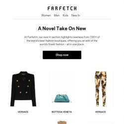 [Farfetch] The best of new
