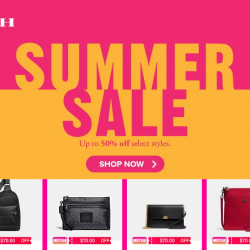 Coach: Shop Online at Coach Official Store on Lazada & Enjoy Up to 50% OFF Select Styles at their Summer Sale!