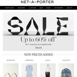 [NET-A-PORTER] 500+ items are now up to 60% off