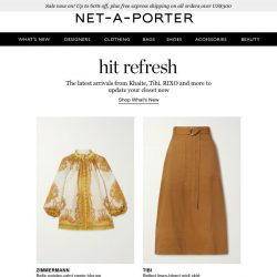 [NET-A-PORTER] Breaking newness: discover our latest arrivals