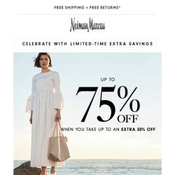 [Neiman Marcus] Celebrate 4th of July in style with extra 30% off sale & clearance