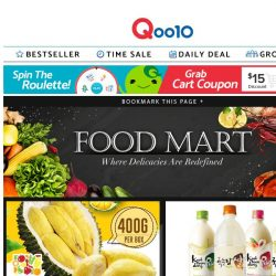 [Qoo10] Weekend shopping spree is here! Shop the best prices from all categories!