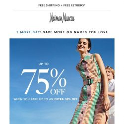 [Neiman Marcus] Now extended: Extra 30% off wear-now sale & clearance looks