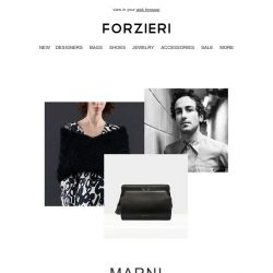 [Forzieri] 🚀 The New MARNI has just landed