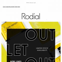 [RODIAL] Psst... New Lines Added To Outlet 💕