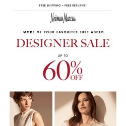 [Neiman Marcus] Up to 60% off Designer Sale arrivals from runway collections