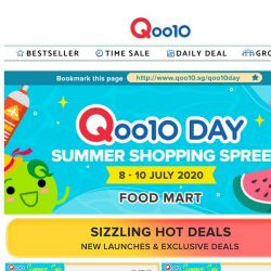 [Qoo10] Qoo10 Day Special❤️New York Cheesecake 1.2kg only $16.90>>Enjoy up to 75% with our mouth-watering deals 😋