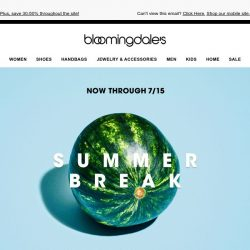 [Bloomingdales] Save 60-75% on tons of wear-now styles