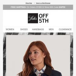 [Saks OFF 5th] New to site: Barbour up to 60% OFF