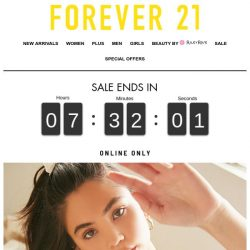 [FOREVER 21] Final Hours: 30% off our Favorite Styles