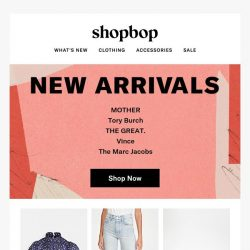 [Shopbop] New sunny styles just landed…