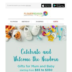 [Floweradvisor] Celebrate and Welcome the Newborn!