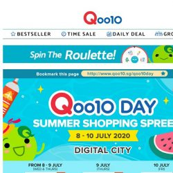 [Qoo10] LAST DAY of Qoo10 Day: Electronics & Appliances SALE! Discounts up to 75% OFF, hurry up and shop now!