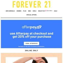 [FOREVER 21] 🤸‍♀️ Summer Faves ur gonna flip for