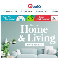 [Qoo10]  Best of Home & Living Sale is here! 🏠 Get 1 for 1 high quality Yoga Ring @$5.90! 🤩