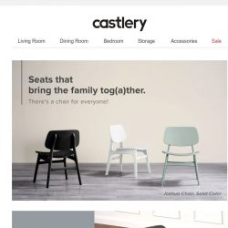 [Castlery] Best seats in the house.