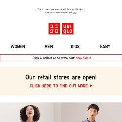 [UNIQLO Singapore] Brighten your Monday with New Arrivals!