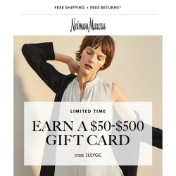[Neiman Marcus] Discover everyday summer updates, enjoy a $50+ gift card!