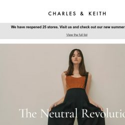 [Charles & Keith] The Neutral Revolution