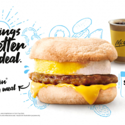 McDonald's: Treat yourself to a Sausage McMuffin® with Egg Meal at just $4.50!
