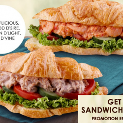 Delifrance: Get Any 2 Sandwiches for $10.90!