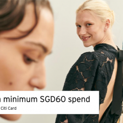H&M Singapore: Enjoy $10 OFF with Min. $60 Spend with Your Citi Credit Card!