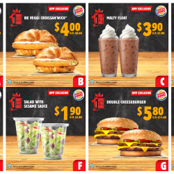 Burger King: Enjoy 1-for-1 Deals with BK App Coupons!