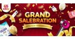 ezbuy: 10th Year Anniversary Sale with Sure-Win Draw, 50% Cashback & Up to 70% OFF Flash Deals!